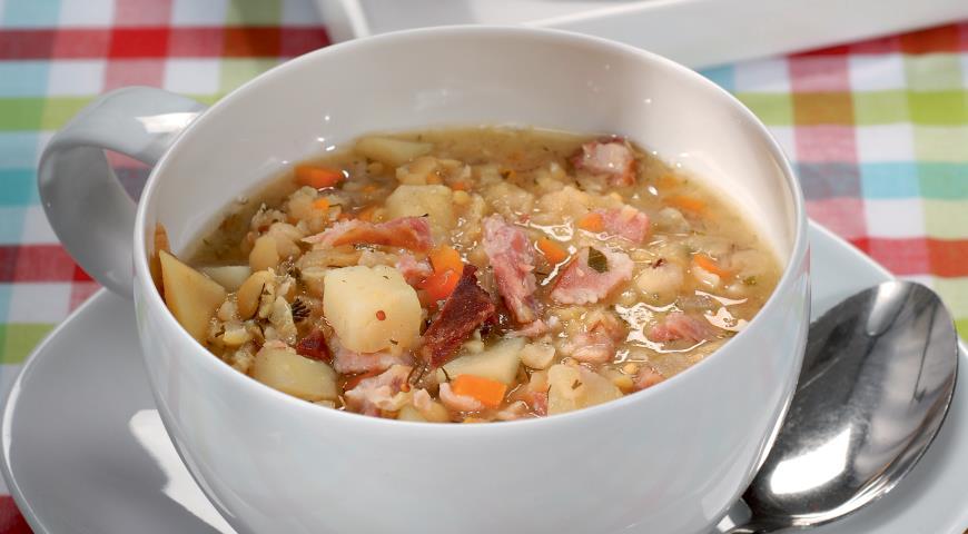 Гороховый суп - рецепт приготовления