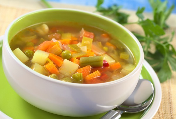 Овощной суп – рецепт приготовления