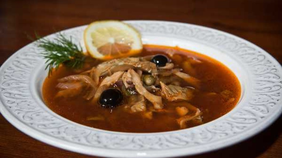 Солянка с грибами - рецепт приготовление