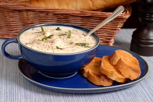 Сырный суп с мясными фрикадельками