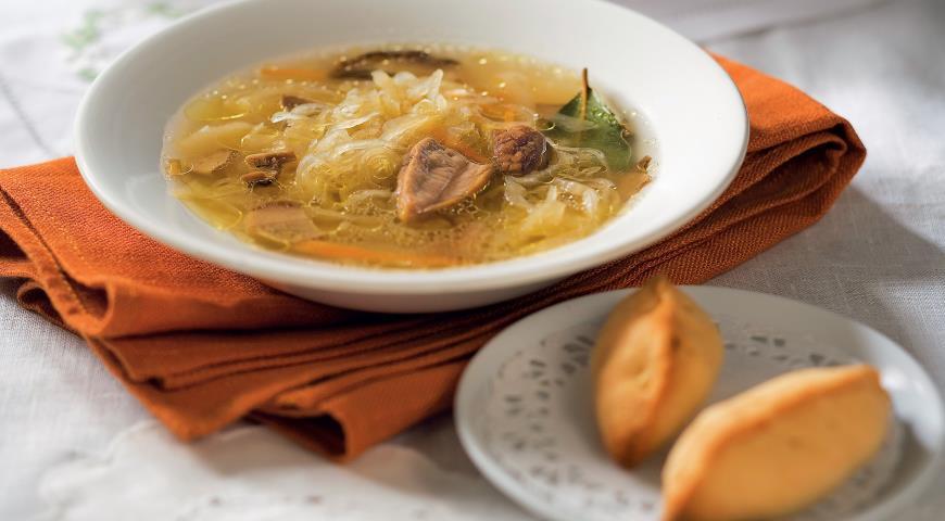 Щи с грибами - рецепт приготовления