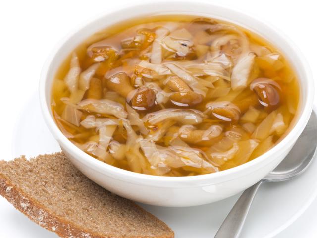 вкуснейшие щи с грибами