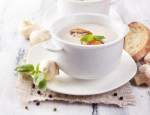вкусный суп с шампиньонами