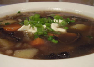 грибной суп из сушеных грибов - рецепт