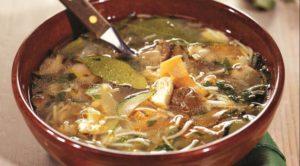 грибной суп - рецепт 1