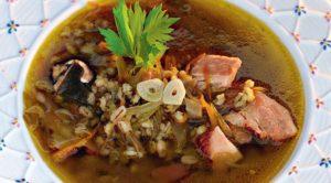 грибной суп - рецепт 2