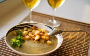 как приготовить грибной суп пюре