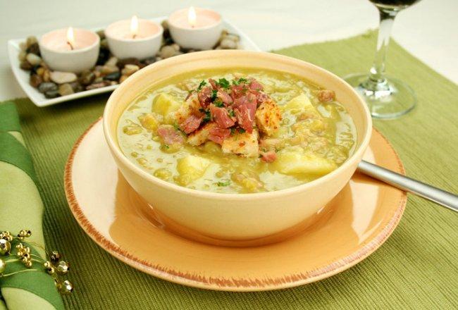 как сварить гороховый суп без мяса