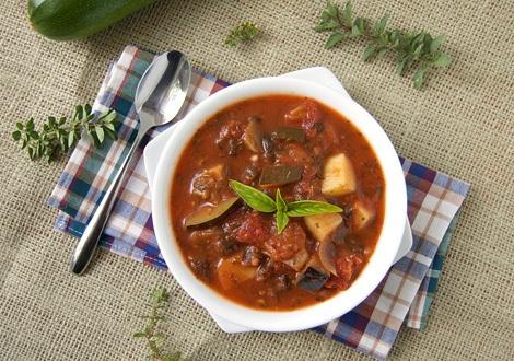 как сварить куриный суп с баклажанами и кабачками