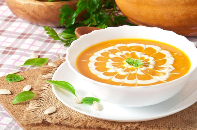 овощной суп пюре - 1