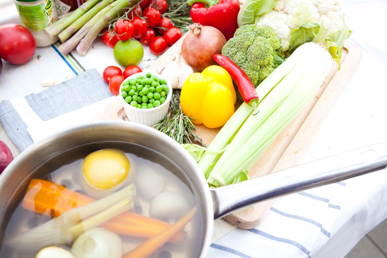 овощной суп - рецепт 2