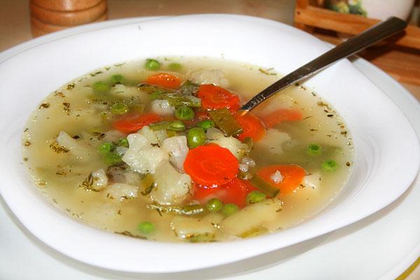 овощной суп - рецепт 3