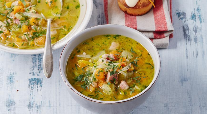 овощной суп рецепт