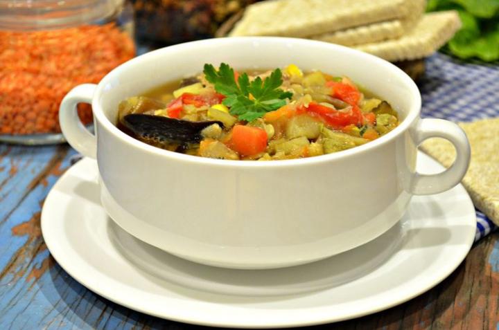 рецепты овощных супов