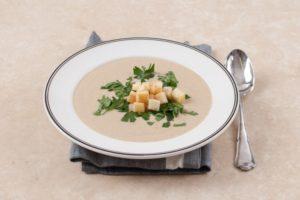 суп пюре грибной - рецепт