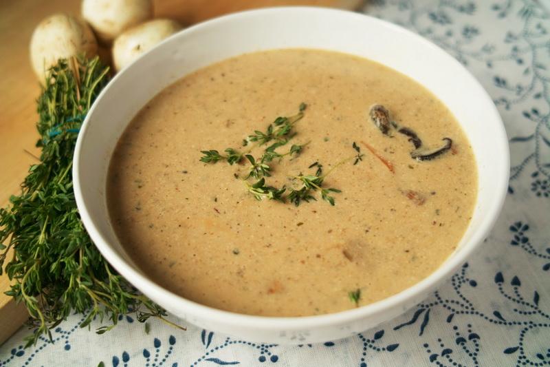 суп пюре с грибами - рецепт