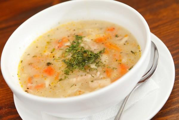 Как сделать суп с клецками