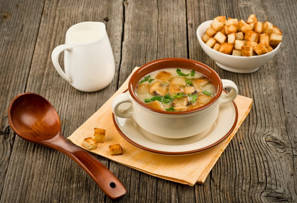 Крем суп из шампиньонов – рецепты приготовления