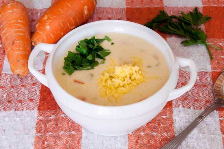 Овощной крем-суп с сельдереем