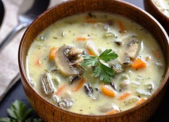 Суп на говяжьем бульоне рецепт