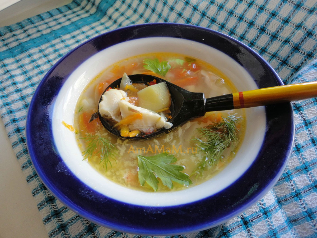 Уха рецепт из морской рыбы