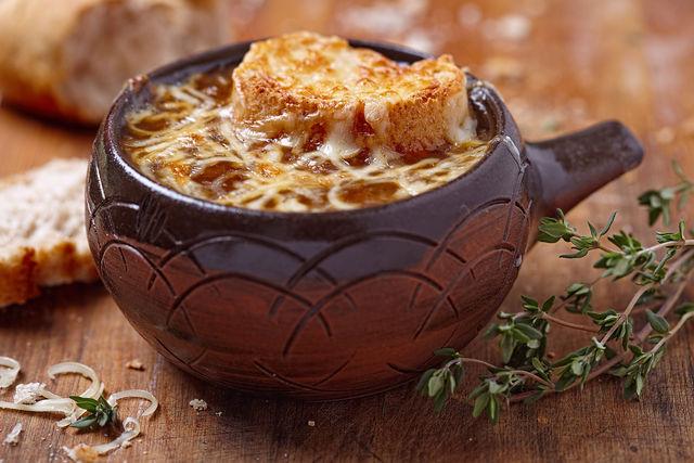 Французский рецепт луковый суп