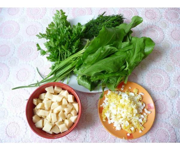 борщ зеленый рецепт