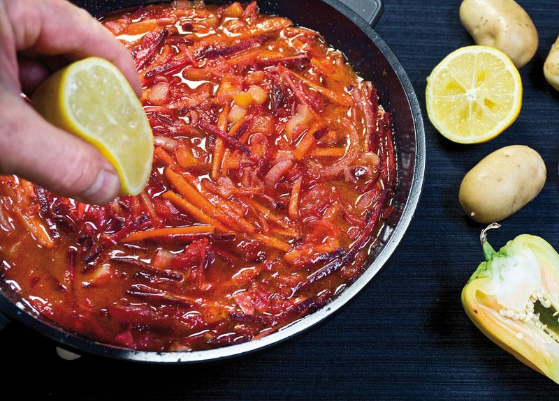 вегетарианский борщ как готовить