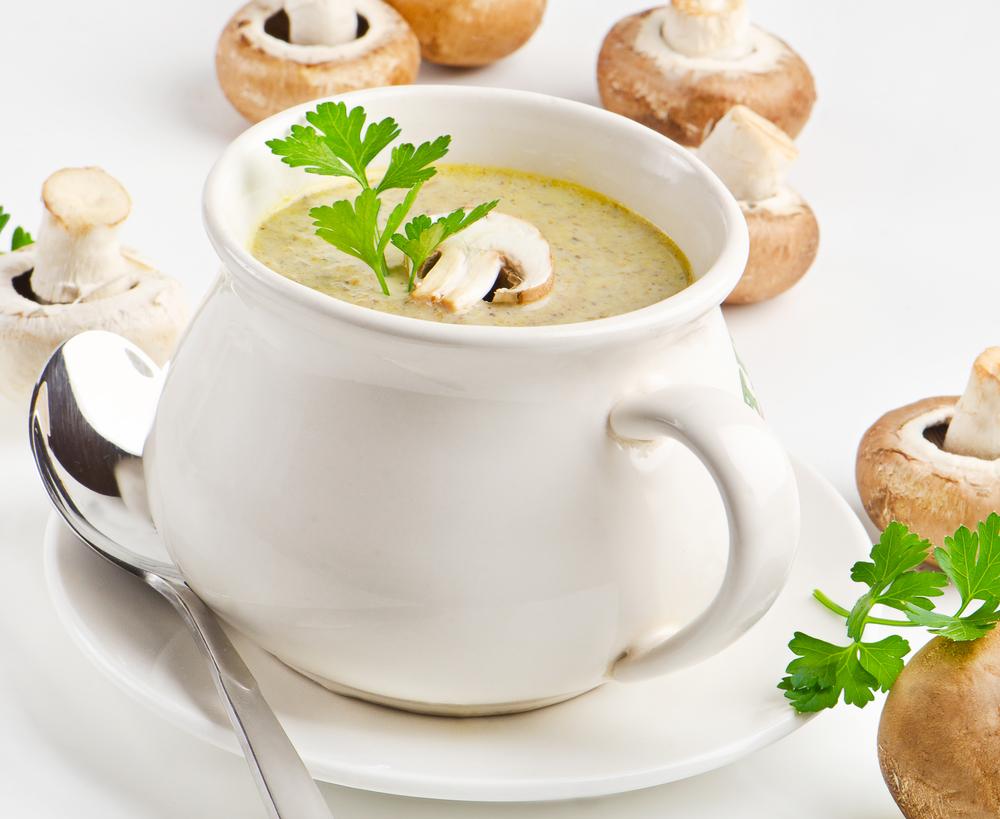 вкусный крем суп из шампиньонов