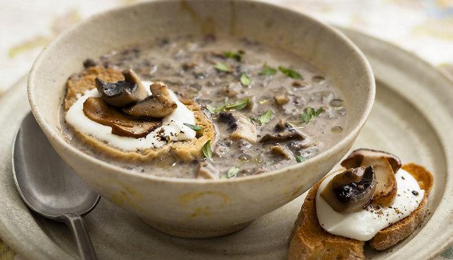 как варить крем суп из шампиньонов