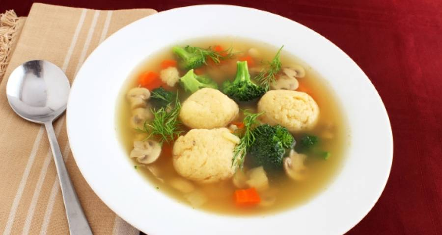 как варить суп с клецками