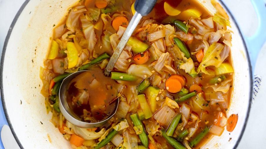 как сварить суп на говяжьем бульоне