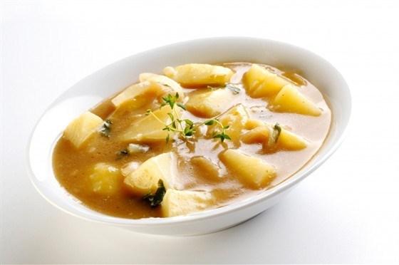 как сварить суп на мясном бульоне