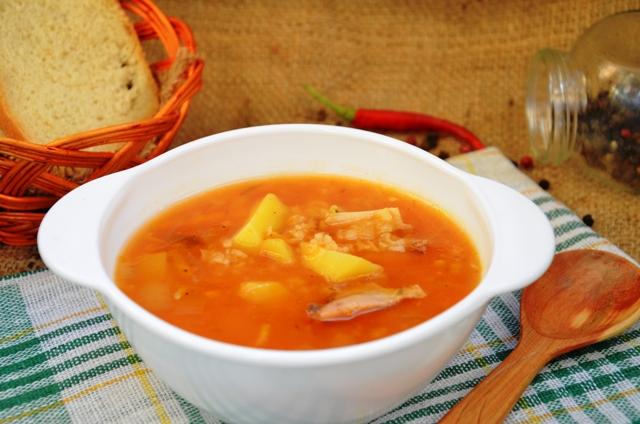 как сварить суп харчо в мультиварке