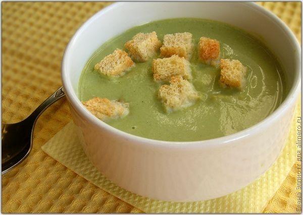 рецепт крем супа