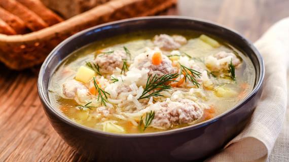 суп из фрикаделек