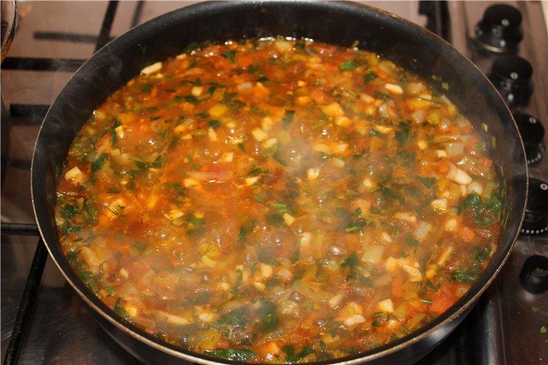 суп на говяжьем бульоне как приготовить