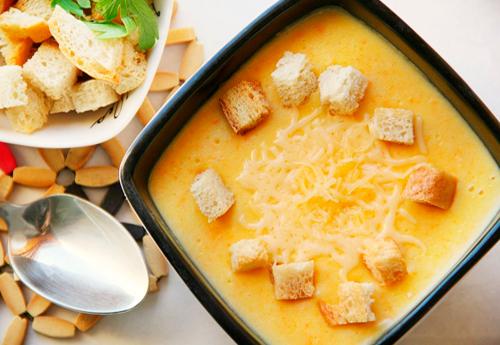 суп на курином бульоне рецепт