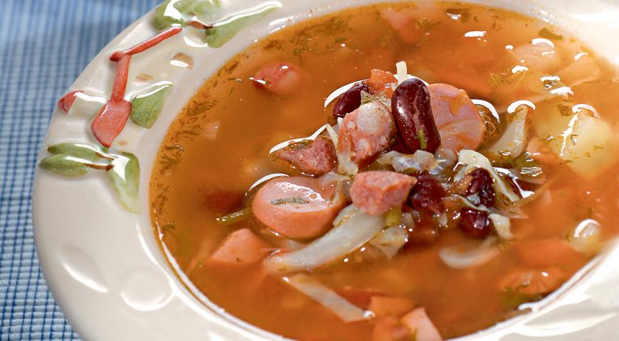 суп на мясном бульоне рецепт