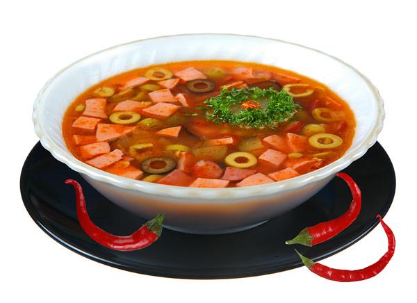 суп солянка как готовить