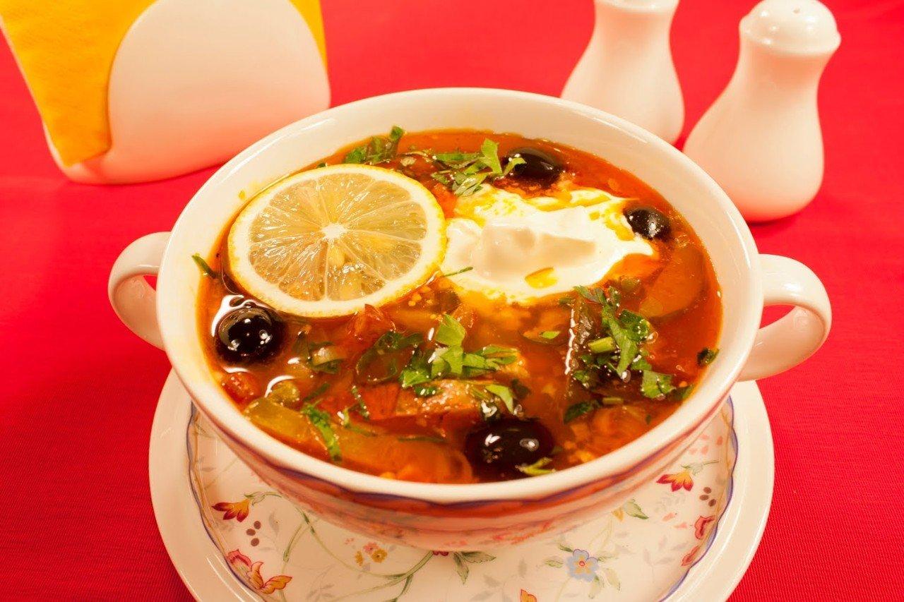 суп солянка с капустой рецепты