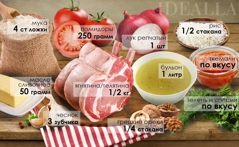 суп харчо классический рецепт ингредиенты