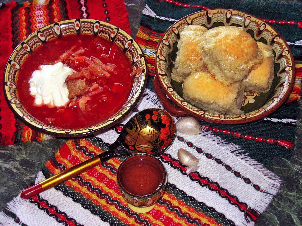 украинский борщ рецепт приготовления