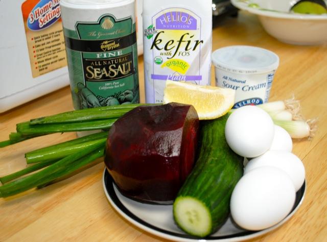 холодный борщ ингредиенты