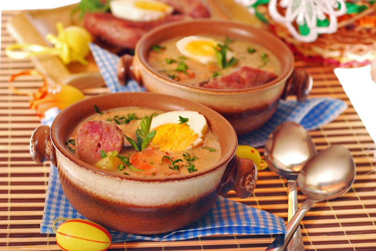 вкусный суп с колбасой
