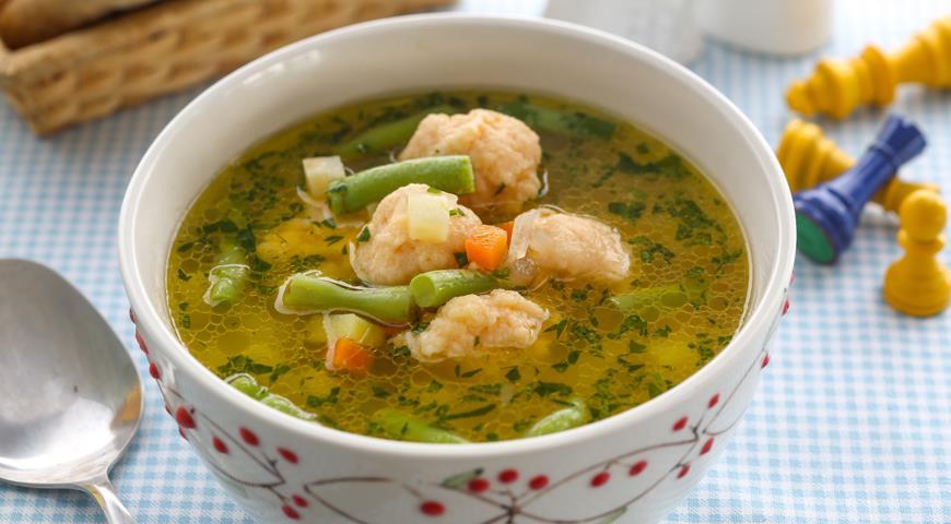 как готовить детские супы