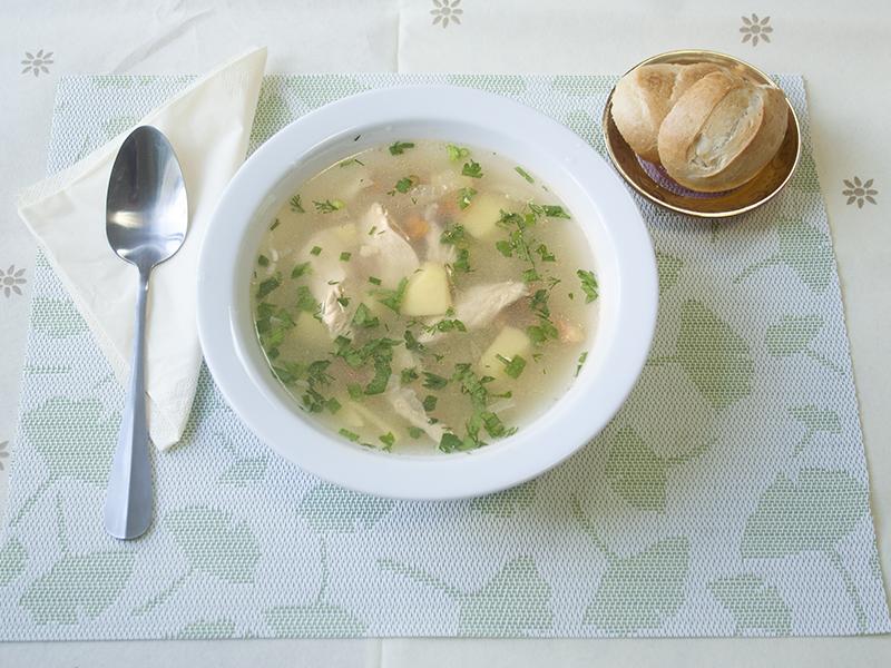 как готовить рисовый суп