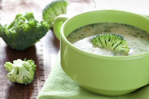 как готовить суп из брокколи