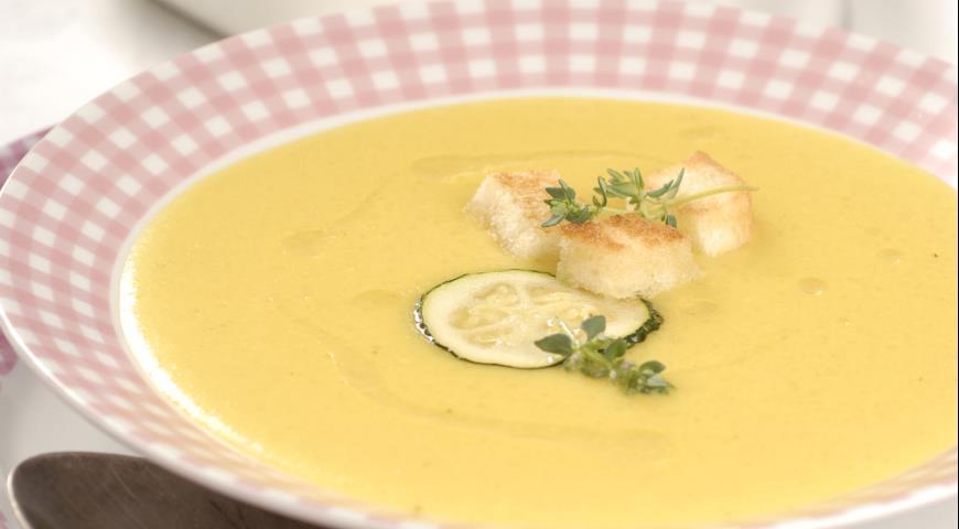 как готовить суп пюре из кабачков