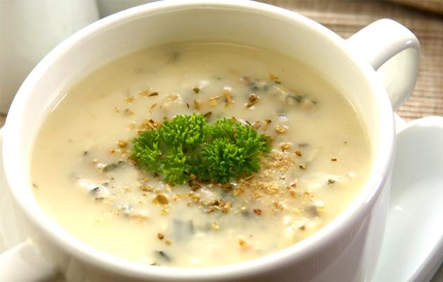как готовить суп пюре из шампиньонов